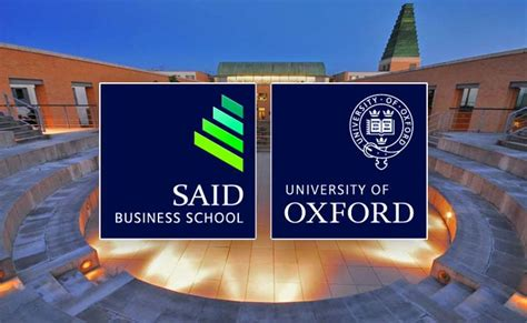 Oxford Mba Deadline by Masters Scholarships At Said Business School Uk For