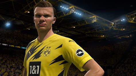 fifa  erling braut haland  hd games wallpapers hd