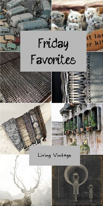 Friday Grey 2 by Friday Favorites 47 Living Vintage