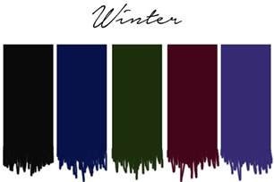 winter colors seasonal color analysis dressing your skin tone one