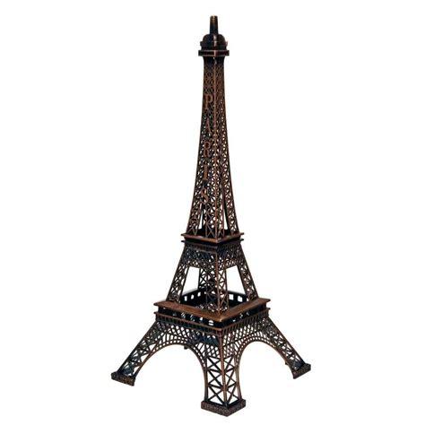 eiffel tower metal centerpiece world