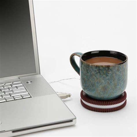Apple Usb Cup Warmer Mug Warmer the cookie shaped usb mug warmer gadgetsin