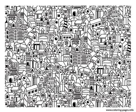 architecture big city coloring pages printable