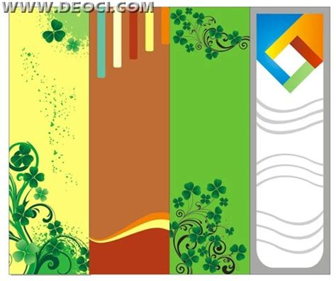 coreldraw templates for posters 4 vector website x banner background design template