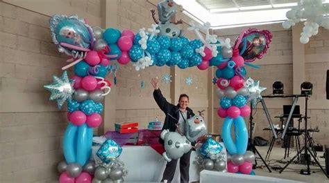 ideas para decorar un salon de frozen decoracion con globo frozen 2 curso de organizacion
