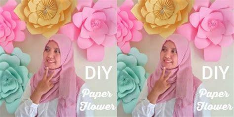 membuat bunga dari kertas manila emma rahmah cara kreatif bikin bunga dari kertas dream