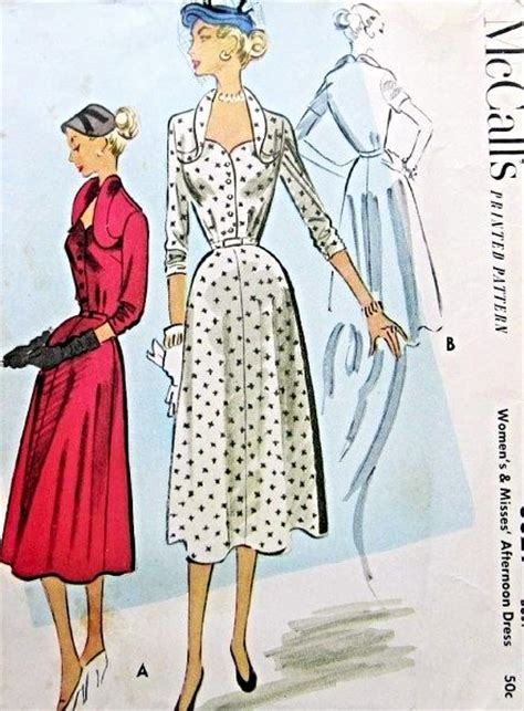 1950s stunning day or dinner cocktail dress striking