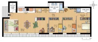 plan de moderne de plain pied plans maisons