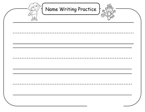 Name Tracing Worksheets by Pictures Practice Writing Your Name Worksheet Toribeedesign