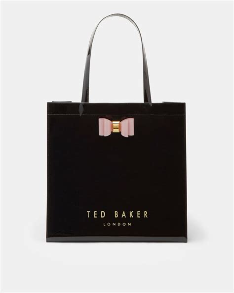 Fvbs Sale Blacy Bag Black Special Offer Bags Ted Baker Catcon Linear Cat Large