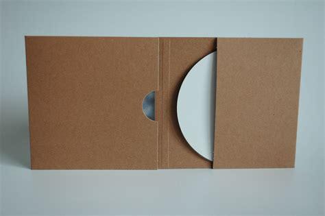 format cd pochette pochettes cd digisleeve en carton recycle brun kraft