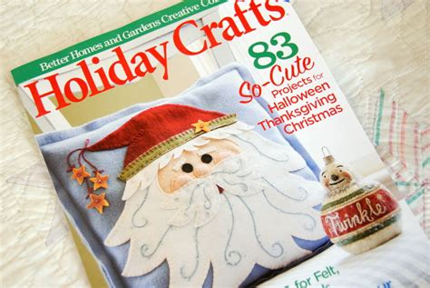 Better Homes And Gardens Holiday Crafts Magazine - busy puttering thimbleanna