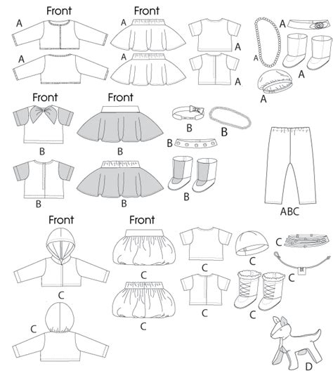 free printable pattern for dog coat free printable doll clothes sewing patterns search