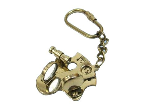 sextant keychain buy brass sextant keychain 5 inch nautical home decor