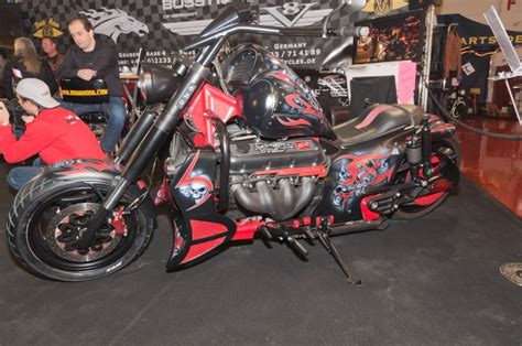 Boss Hoss Bike Ps by Custombike Messe Event