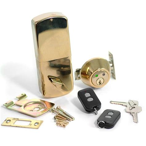 Wireless Door Lock With Remote by Remote Controlled Wireless Door Locks