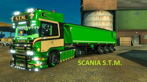 scania r s t m trailer 1 22 ets2 mods
