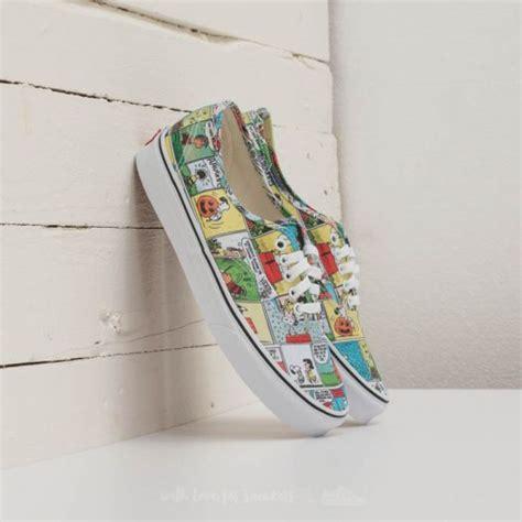 Original Vans Wm Peanuts Canoodles Black Sneakers vans x peanuts authentic comics black true white footshop