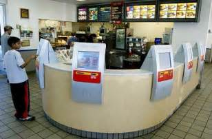 automated cashier machine dear striking fast food workers meet the machine that