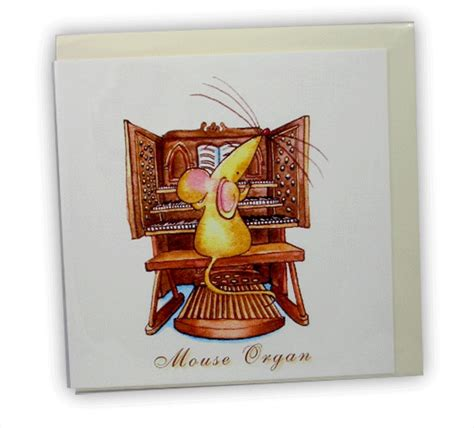 Musical Gift Cards - musical mice mouse organ card music cards musical gifts online