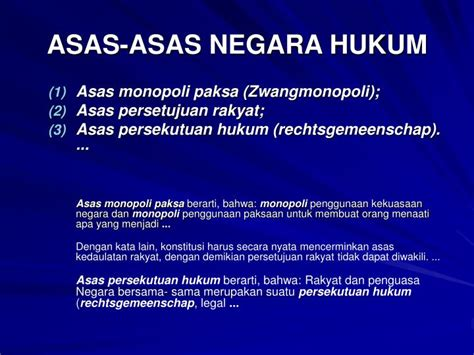 Asas Asas Hukum Adatprofbushar Muhammad ppt hukum administrasi negara powerpoint presentation id 509091