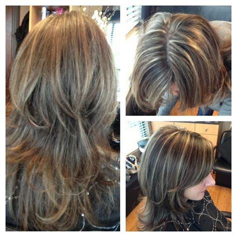 going gray from light golden brown hair with highlights 17 best images about going grey gracefully on pinterest