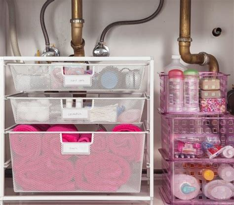 bathroom sink organization ideas sneaky bathroom storage tricks cubesmart self storage