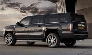 The Cadillac Escalade Rendering New Cadillac Escalade