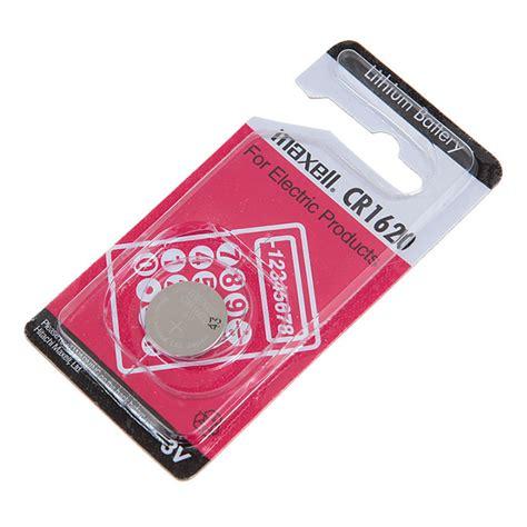 Baterai Maxell Cr1620 Cr 1620 maxell cr1620 220mah 3v lithium battery with button design