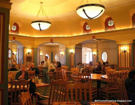 Dining Room Captain Definition Guest Review Captain S Grille Breakfast Buffet At Disney