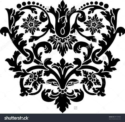 art pattern stencils cut stencil clipart clipground