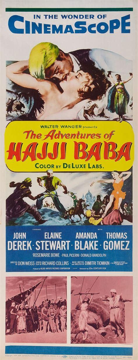 film romance adventure the adventures of hajji baba 1954 adventure movies