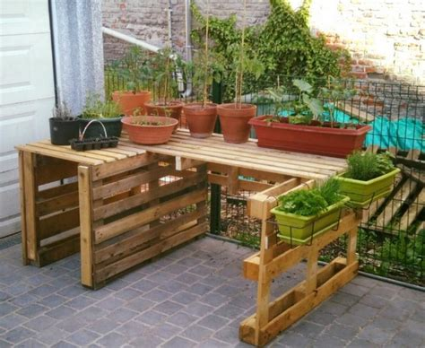 Pallet Garden Decor Wonderful Wood Pallet Ideas Recycled Things