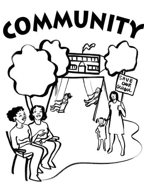 Community Coloring Pages free coloring pages of community