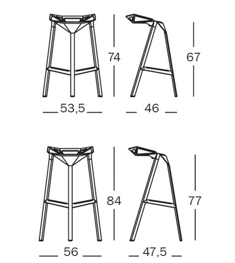 sgabelli magis stool one sgabello magis milia shop