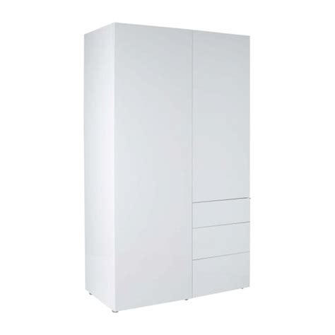 armoire blanche laquee perouse armoires blanc bois habitat