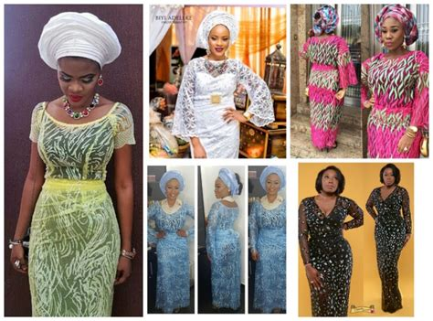 new iro and buba new iro and buba styles cord lace iro buba aso ebi