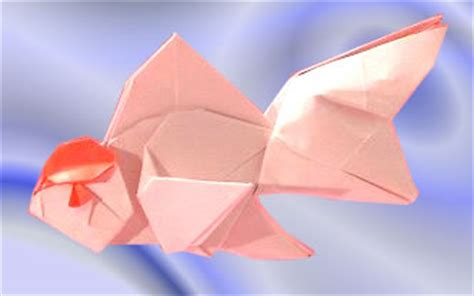 Origami Goldfish - ronald koh gilad s origami page