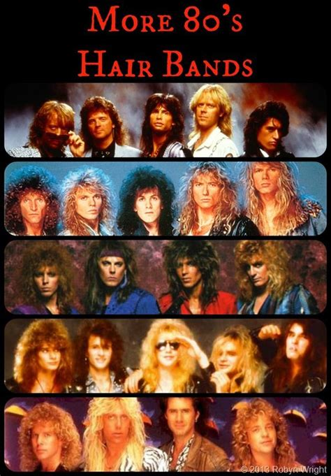 276 Best Images About Hair And Bands On Pinterest Head   25 best ideas about 80s hair bands on pinterest hair