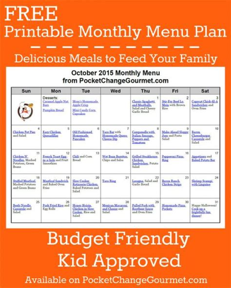 printable budget recipes delicious meals to feed your family in the printable