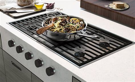modern gas cooktop wolf 36 quot contemporary gas cooktop 5 burners cg365c s