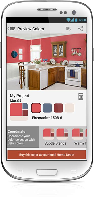 behr paint color app android behr paint enterprise ios app hathway mobile agency