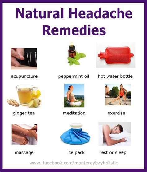 headache remedies healthy