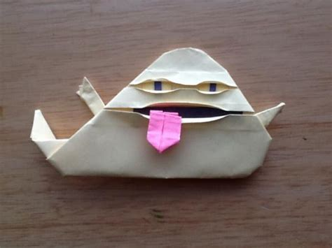 cover jabba the puppet origami yoda
