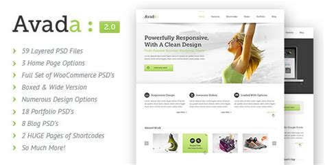 40 best ever psd web templates creativecrunk
