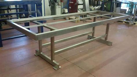 tavoli in acciaio inox de ma presenta la nuova lavorazione inoxesterno per tavoli