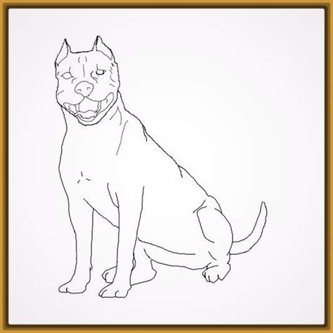 imagenes para dibujar de perros pitbull descarga los lindos dibujos para pintar perros imagenes