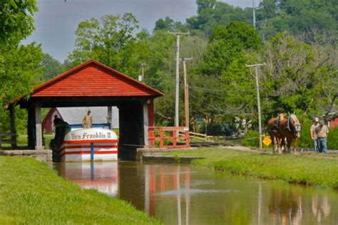 metamora canal boat ride metamora has the best canal boat ride near cincinnati