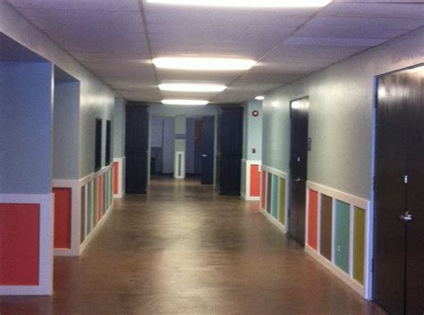painted hallways churches children s ministry decoration stains for and
