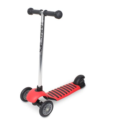Scooter by Kids Tricycle Red 3 Wheel Scooter Balance Childrens